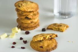 cookies au chocolat blanc et cranberries au thermomix