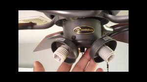 Harbor Breeze Ceiling Fan Issues by How To Repair Pull Chain Light Switch In Ceiling Fan Youtube