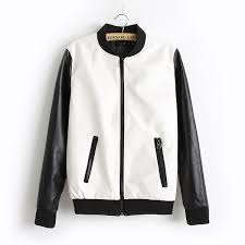 style leather jacket for women with front pockets