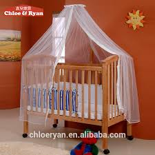 Fashion Wooden Baby Furniture Baby Crib Attachable Baby Bed With