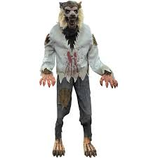 Lurching Werewolf Animated Halloween Decoration Walmartcom