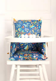 High Chair Cushion In Cotton Coated