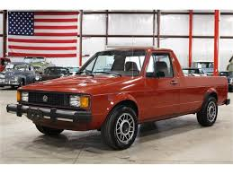 100 Vw Rabbit Truck For Sale 1982 Volkswagen For ClassicCarscom CC926083
