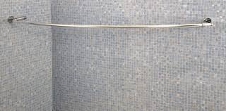 Walmart Curtain Rods Canada by Image Of Curved Shower Curtain Rod Ideas Curved Shower Curtain Rod