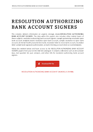Resolution Authorizing Bank Account Signers EBOOKTERM Pages 1 4
