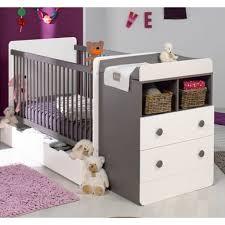 chambres bébé pas cher lit bébé combiné 70x140cm évolutif 90x190cm pas cher à prix auchan