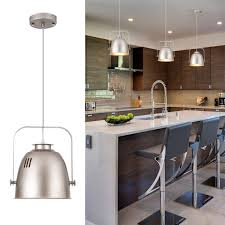 Winsome Industrial Style Kitchen Island Lighting Mill Design