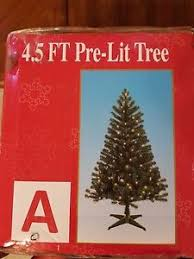 45 Ft Pre Lit Christmas Tree Clear