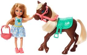 spielset chelsea puppe pony