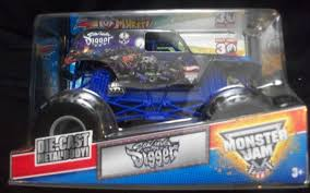 HotWheels Monster Jam Grave SON UVA Digger 30th Truck 2012 124 On ...