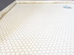 white hexagon floor tile modern furniture