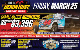 100 Super Trucks Plus Friday Night Lights At Georgetown Speedway With Deron Rust Memorial