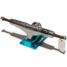 100 Thunder Trucks Lightstrike Lights Skateboard ChromeTeal 147 Hi