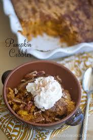 Easy Pumpkin Desserts Pinterest by Easy Pumpkin Cobbler All The Flavors Of Pumpkin Pie In An Easy