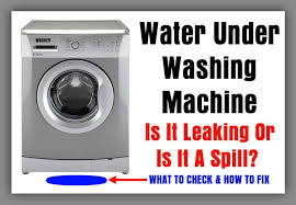 Whirlpool Ice Maker Leaking Water On Floor by 13 Reasons Why A Washer Leaks Water Under Washing Machine Is