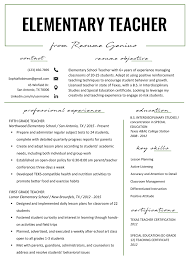 Elementary Teacher Resume Samples & Writing Guide | Resume Genius High School Resume Examples And Writing Tips For College Students Seven Things You Grad Katela Graduate Example How To Write A College Student Resume With Examples University Student Rumeexamples Sample Genius 009 Write Curr Best Objective Cv Curriculum Vitae Camilla Pinterest Medical Templates On Campus Job 24484 Westtexasrerdollzcom Summary For Professional Lovely
