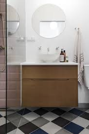 modern mdf fronts on metod ikea acting as a bathroom