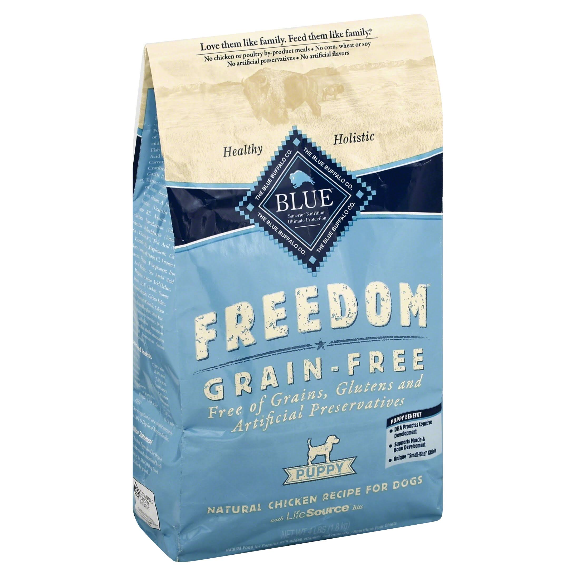 Blue Buffalo Freedom Puppy Food - Chicken Recipe