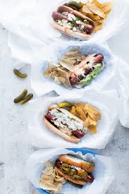 Halloween Hotdog Fingers Recipe by Gourmet Dogs Four Ways Oh So Delicioso