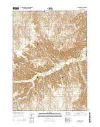 Ashfall Fossil Beds State Historical Park by Ashfall Fossil Beds State Historical Park Topo Map In Antelope