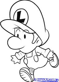 Download Baby Mario Coloring Pages To Print