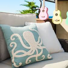 Pier One Outdoor Throw Pillows by Octopus Embroidered Pillow Pier 1 Imports