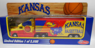 Kansas KU Jayhawks Basketball Collectible Semi Truck 1 80 Scale | EBay Semi Truck Logos Remote Control Rc Tractor Trailer 18 Wheeler Style Trucks For Sale In Nova Scotia New Used Garbage Ebay By Owner Best Of Bangshift Find The First Gear Palletized Trucking Houston Bmack 1719 Inspirational Is This A Ford L8000 Dump Plus 6 Capacity Also Bodies For Awesome 1956 Tonka State Hi Way Custom Tandem Axle 1978 Gmc Astro Cabover Tires Peterbilt 379 359 Garage Wall Man Cave Vinyl Banner Michigan