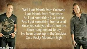 Florida Georgia Line - Colorado (Lyrics/Lyrics Video) - YouTube Luke Bryan Shares The Story Behind His Single Fast Sounds Like Luke Bryan Performing That Old Tacklebox Youtube Best Place To Sell Last Minute Concert Tickets Missoula Mt We Rode In Trucksluke Bryanlyrics Thats My Kind Of Night Tour Perfomance Video Music Sleeping Eden General Country Most People Are Good Lyrics Rode In Trucks By Pandora Amazoncom Appstore For Android Doin Thing Genius