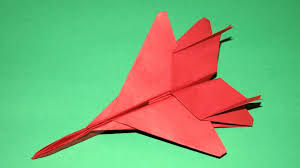 Best Looking Paper Airplane F15 Tutorial