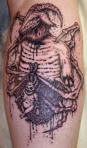 Top Terrifying And Scary Macabre Tattoo Designs