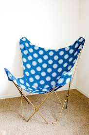 Butterfly Chair Replacement Covers Leather by Make This Diy Butterfly Chair Makeover In One Afternoon
