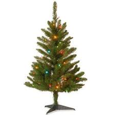 Pre Lit Pencil Cashmere Christmas Tree by 5 5 Ft And Under Multiple Colors Pre Lit Christmas Trees