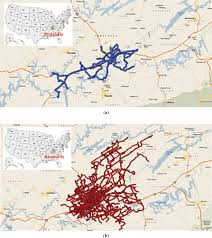 Driving Patterns Of Trucks Over 1 Year In Knoxville, Tennessee: (a ... Used Cars Knoxville Tn Trucks Parker Auto Sales And Preowened Car Dealer In Etc Inc Carmex 2017 Ford F150 Raptor Serving Chattanooga 1ftfw1rg5hfc56819 2018 Chevrolet Colorado Lt For Sale Ted Russell With New Rutledge Ram 1500 Express 3c6rr7kt7hg610988 Wheels Service Mcmanus Llc
