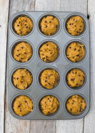 Cake Mix And Pumpkin Muffins by Healthy Kodiak Cakes Pumpkin Chocolate Chip Muffins Boys Ahoy