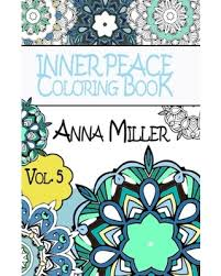 Inner Peace Coloring Book Pocket Size