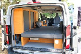 Sportsmobiles Ford Transit Van Conversion