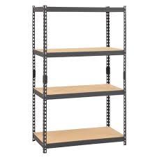 Sterilite 4 Shelf Cabinet by Sterilite Garage Storage Storage U0026 Organization The Home Depot