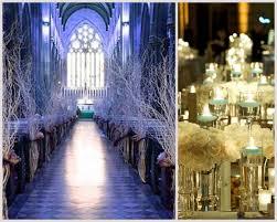 Winter Wonderland Wedding White Rose Centerpiece