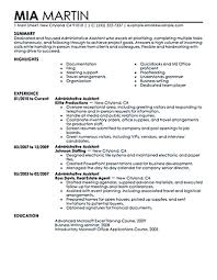 Administrative Assistant Resume Should Be Well Noticed If You Want ... Executive Assistant Resume Sample Complete Guide 20 Examples Assistant Samples Best Administrative Medical Beautiful Example Free Admin Rumes Created By Pros Myperfectresume For Human Rources Lovely 1213 Administrative Resume Sample Loginnelkrivercom 10 Office Format Elegant Book Of Valid For Unique