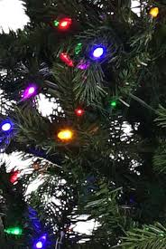Led Easy Plug Slim Green Ridge Artificial Tree Multicolored Lights Christmas Multicolor 45 Ft Dunhill Fir