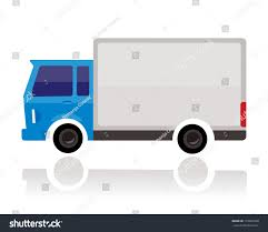 Small Truck Funny Cartoon Style Stock Photo (Photo, Vector ...