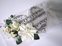 DIY Greeting Card Ideas Paper Art Crafts With Music Sheets