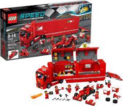 100 Ferrari Truck LEGO Speed Champions 75913 F14 T Scuderia Mattonito