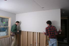 Hanging Drywall On Ceiling Joists by Guide To Gypsum Board And Drywall Pro Construction Guide