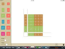 algebra tiles factoring algebra tiles brainingc