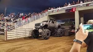 Diesel Brothers Monster Truck At The Truck Pulls. - YouTube