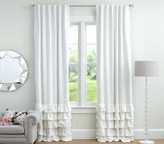 ruffle blackout curtains teawing co
