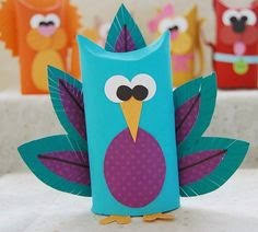 Making TP Tube Animals Is A Fun Way To Spend Your Time This Owl Made From Paper Paint And Cardboard Cutouts Stuff That You Can Find Around Home