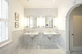 lucite washstand transitional bathroom pricey pads