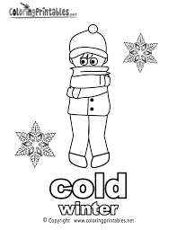 Adjectives Coloring Page A Free English Printable